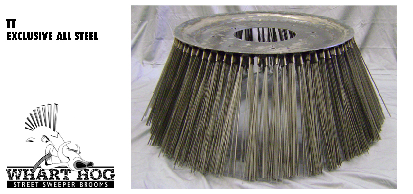High Quality All Steel Brooms